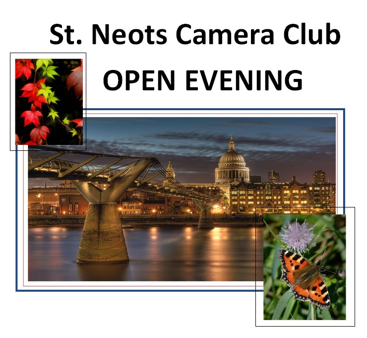 Camera Club open evening